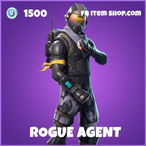 Rogue Agent epic fortnite skin