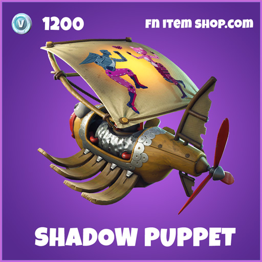 Shadow Puppet epic fortnite glider