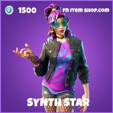 Synth Star epic fortnite skin