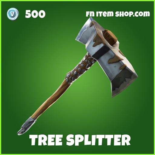 Tree Splitter uncommon fortnite pickaxe