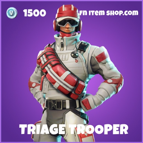 triage trooper epic fortnite skin