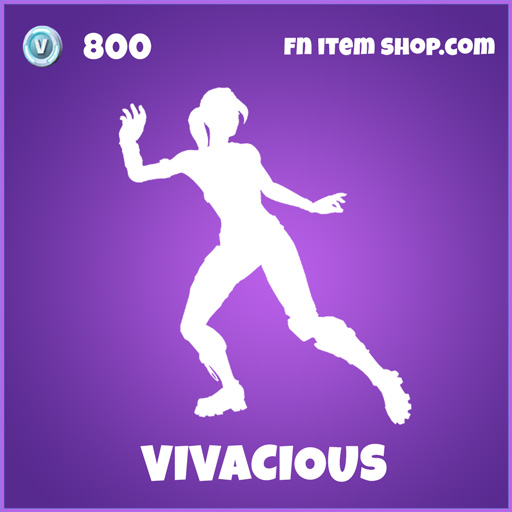 Vivacious epic fortnite emote