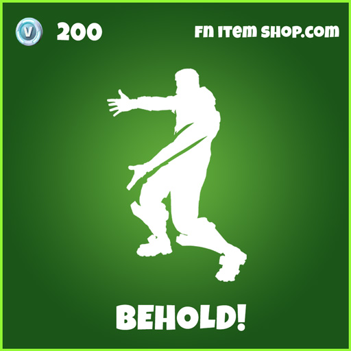 Behold! uncommon fortnite emote