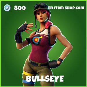 Bullseye uncommon fortnite skin