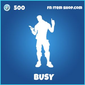 Busy rare fortnite emote