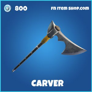 Carver rare fortnite pickaxe