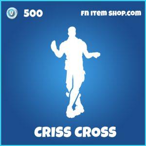 Criss Cross rare fortnite emote