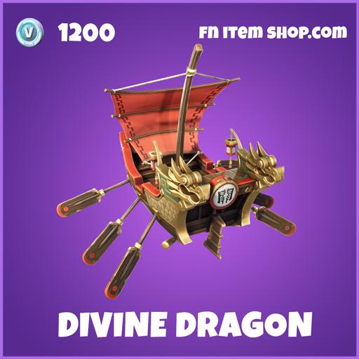 Divine Dragon epic fortnite glider