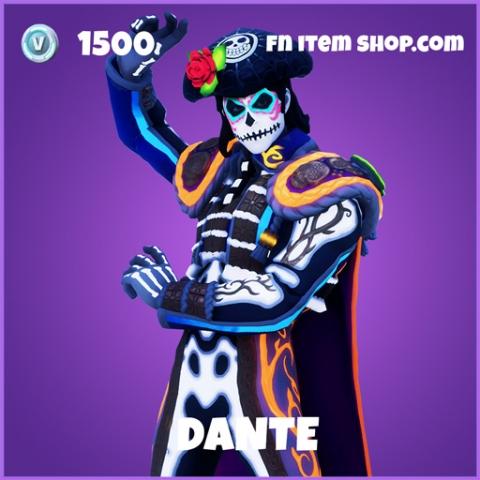 Dante Epic Fortnite skin