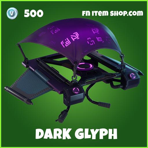 Dark Glyph uncommon fortnite glider