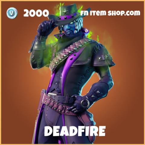 Deadfire legendary fortnite skin