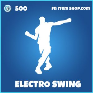 Electro Swing rare fortnite emote