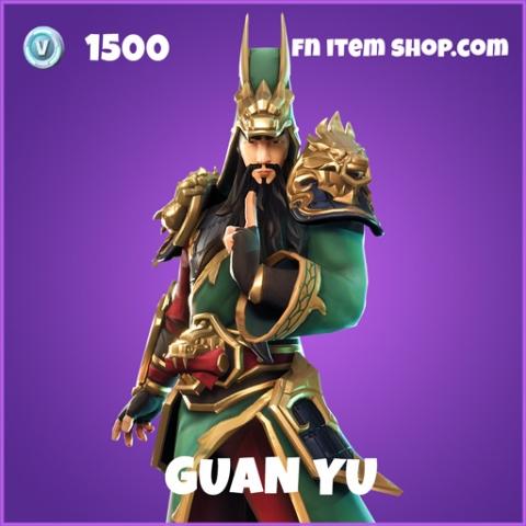 Guan Yu epic fortnite skin