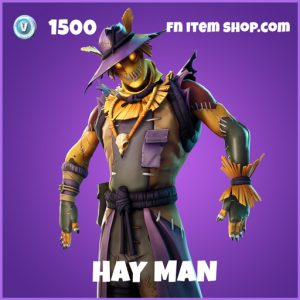 Hay Man epic fortnite skin