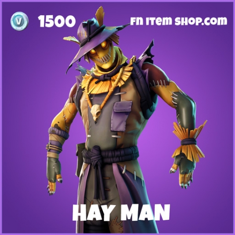 Hay Man epic fortnite skin