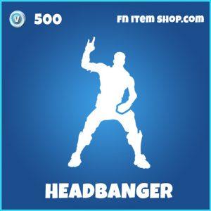 Headbanger rare fortnite skin
