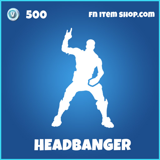 Headbanger rare fortnite skin