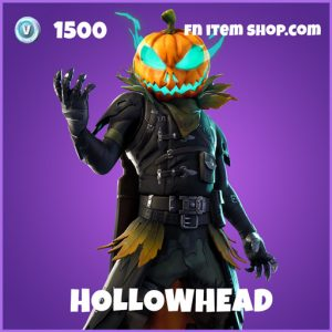 Hollowhead epic fortnite skin