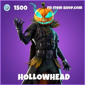 Hollowhead epic fortnite skin