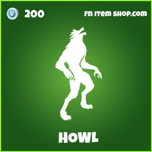 Howl uncommon emote fortnite