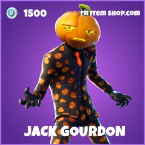 Jack gourdon epic fortnite skin