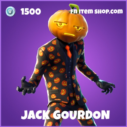 Jack gourdon epic fortnite skin