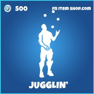 Jugglin' rare fortnite emote