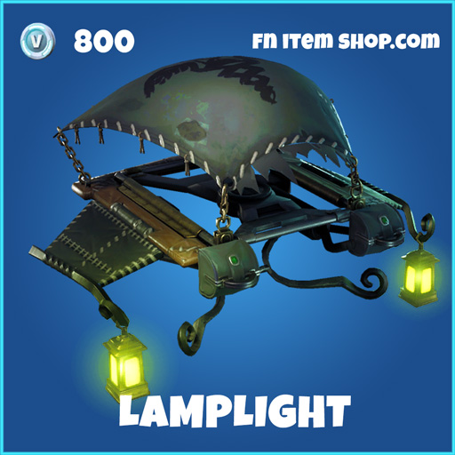 Lamplight rare fortnite glider