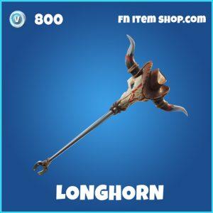 Longhorn rare forntite pickaxe