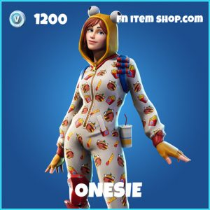 Onesie rare fortnite skin