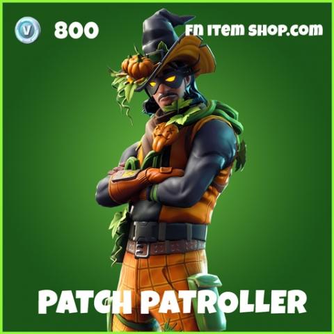 Patch Patroller uncommon fortnite skin