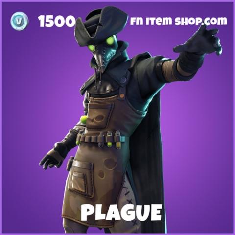 Plague epic fortnite skin