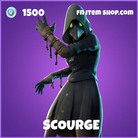 Scourge epic fortnite skin