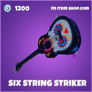 Six String Striker epic fortnite pickaxe