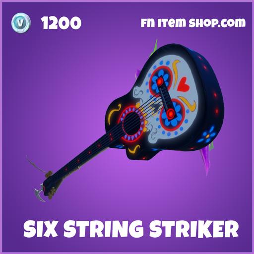 Six String Striker epic fortnite pickaxe