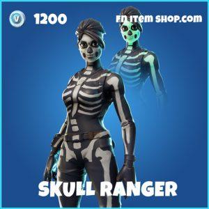 Skull Ranger rare fortnite skin