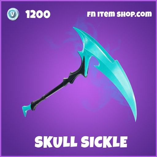 Skull Sickle epic fortnite pickaxe