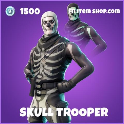 Skull trooper epic fortnite skin