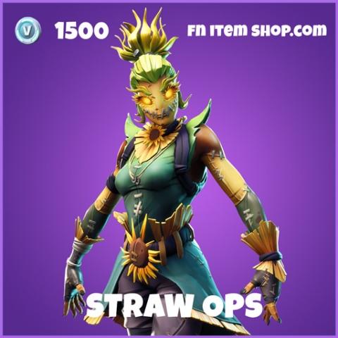 Straw ops epic fortnite skin