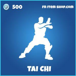 Tai Chi rare emote fortnite