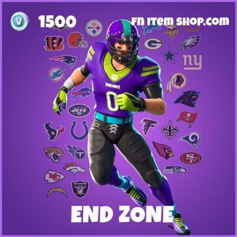 End Zone epic fortnite skin