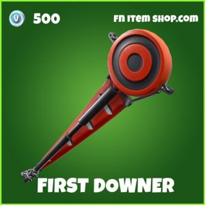 first downer uncommon fortnite pickaxe