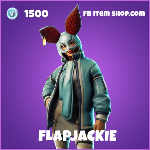 flapjackie epic fortnite skin
