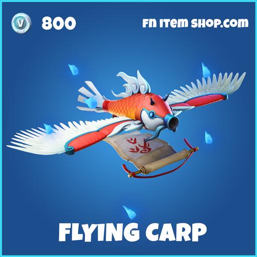 flying carp rare fortnite glider