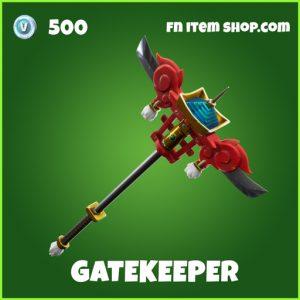 Gatekeeper fortnite uncommon pickaxe