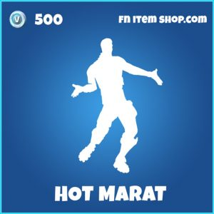 hot marat rare fortnite emote