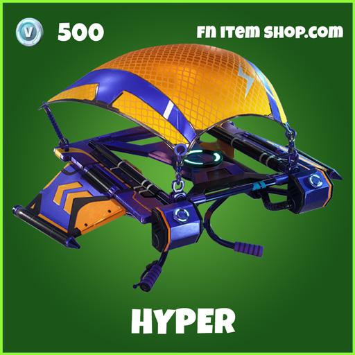 Hyper uncommon fortnite glider