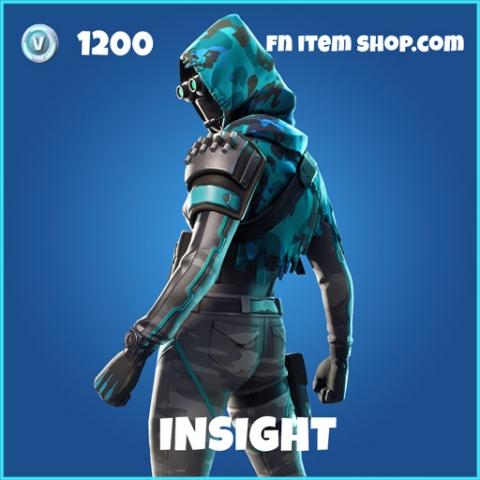 Insight rare fortnite skin