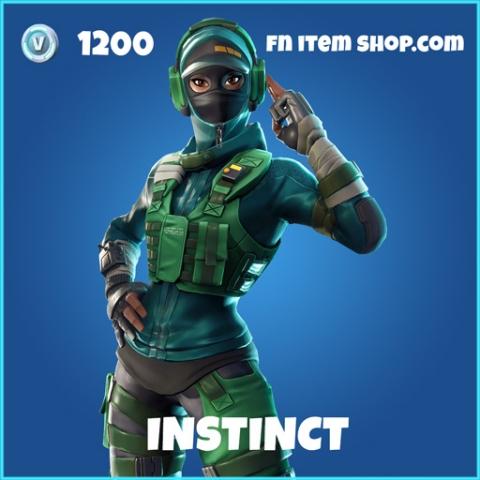 Instinct rare fortnite skin