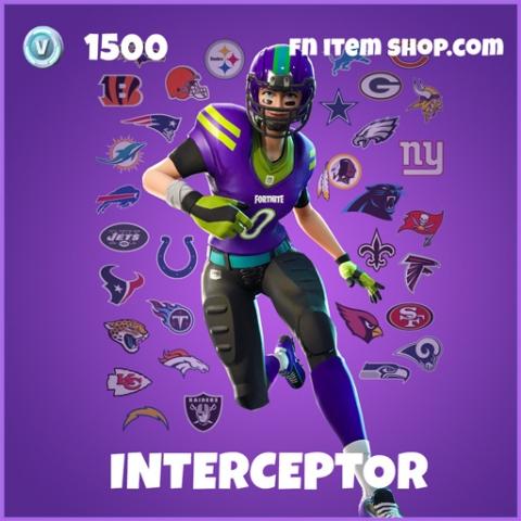 Interceptor epic fortnite skin